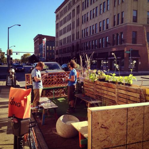 first parklet DF
