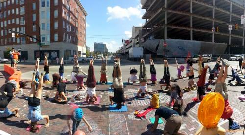 headstand open streets challenge