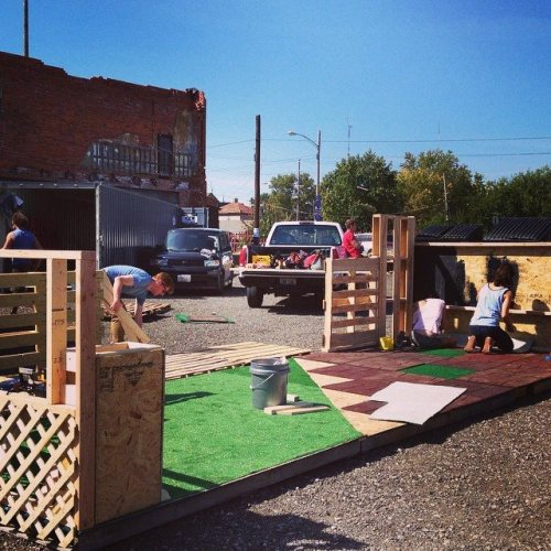 parklet progress